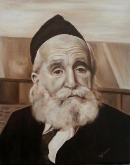 "Rabbi Moshe Feinstein z""l."